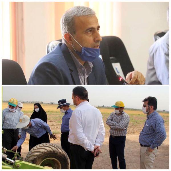 طراحی و ساخت دستگاه کاشت مستقیم غلات آبی در خوزستان
