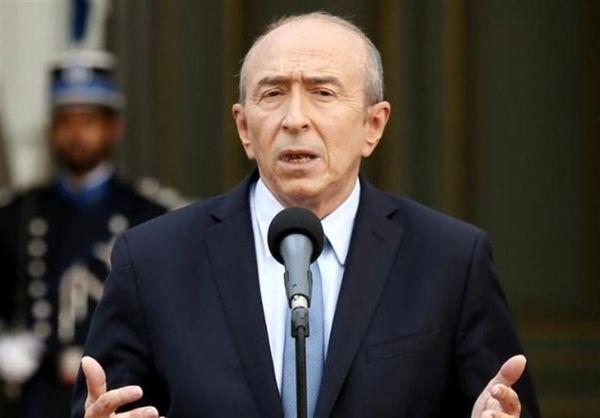 وزیر کشور فرانسه از سمتش کناره گیری میکند