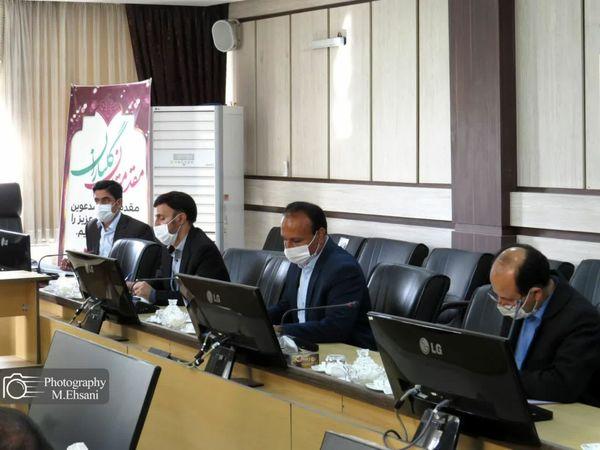 نخستین جلسه کارگروه یاوران تولید در سال ۱۴۰۰ در خراسان شمالی برگزار شد
