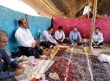 حضور رئیس سازمان جهاد کشاورزی استان لرستان در جمع صمیمی عشایر استان لرستان