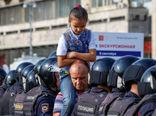تظاهرات ضددولتی در روسیه