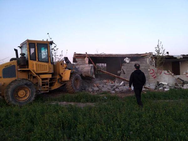 بیش از 12 هکتار از اراضی کشاورزی شهریار آزاد سازی شد