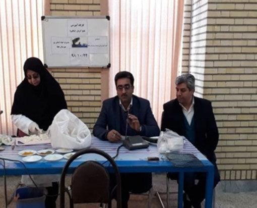 برگزاری دوره آموزش همگانی مهارت طبخ آبزیان در شهرستان جلفا