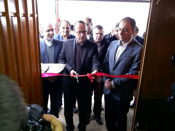پروژه آبیاری تحت فشار در شهرستان شیروان افتتاح شد