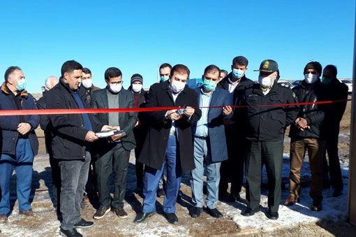 افتتاح طرحهای کشاورزی در گرامی داشت ایام ا... دهه مبارک فجر در شهرستان بستان آباد