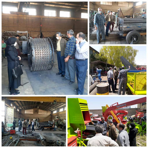 تخصیص یک دستگاه کمباین و 13 دستگاه تراکتور به متقاضیان در اسکو