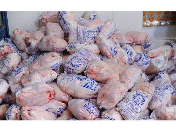 تولید 390 تن گوشت مرغ در محمودآباد