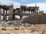 تخریب ویلاهای غیر مجاز در قلات شیراز