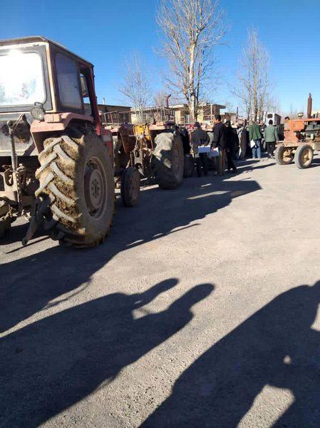 اجرای طرح پلاکگذاری ماشینآلات کشاورزی
