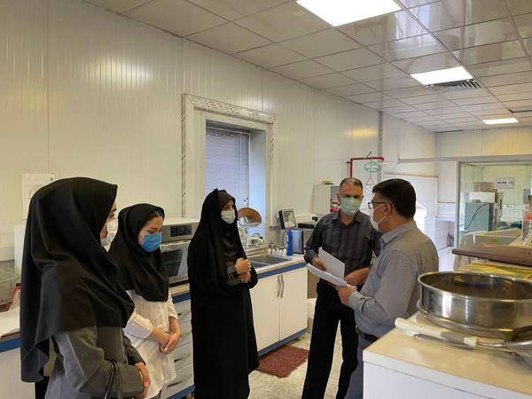 بازدید رییس سازمان جهاد کشاورزی استان قزوین از مراکز خرید تضمینی گندم شمس آذر یک
