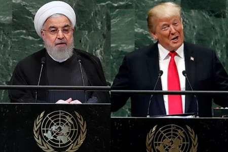 اقتدار_زورگوئی تقابل روحانی_ترامپ
