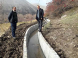 اجرای کانال آبیاری عمومی در روستای آتش بیگ شهرستان هشترود  از محل اعتبارات حوادث سیل