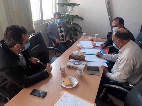 تعیین تکلیف  14  پرونده امور اراضی در کمیسیون تقویم شهرستان قرچک