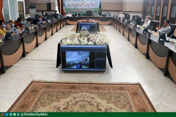 نشست تخصصی طرح کشاورزی مشارکتی دانشبنیان کشت ذرت در استان قزوین