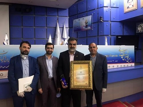 جهاد کشاورزی فارس تقدیرنامه ۴ ستاره تعالی دریافت کرد