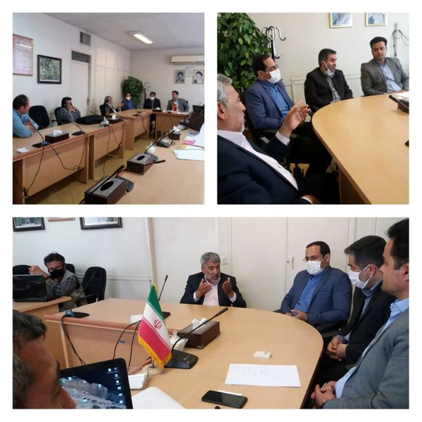 دیدار مدیر جهاد کشاورزی پردیس با رئیس اوقاف شهرستان