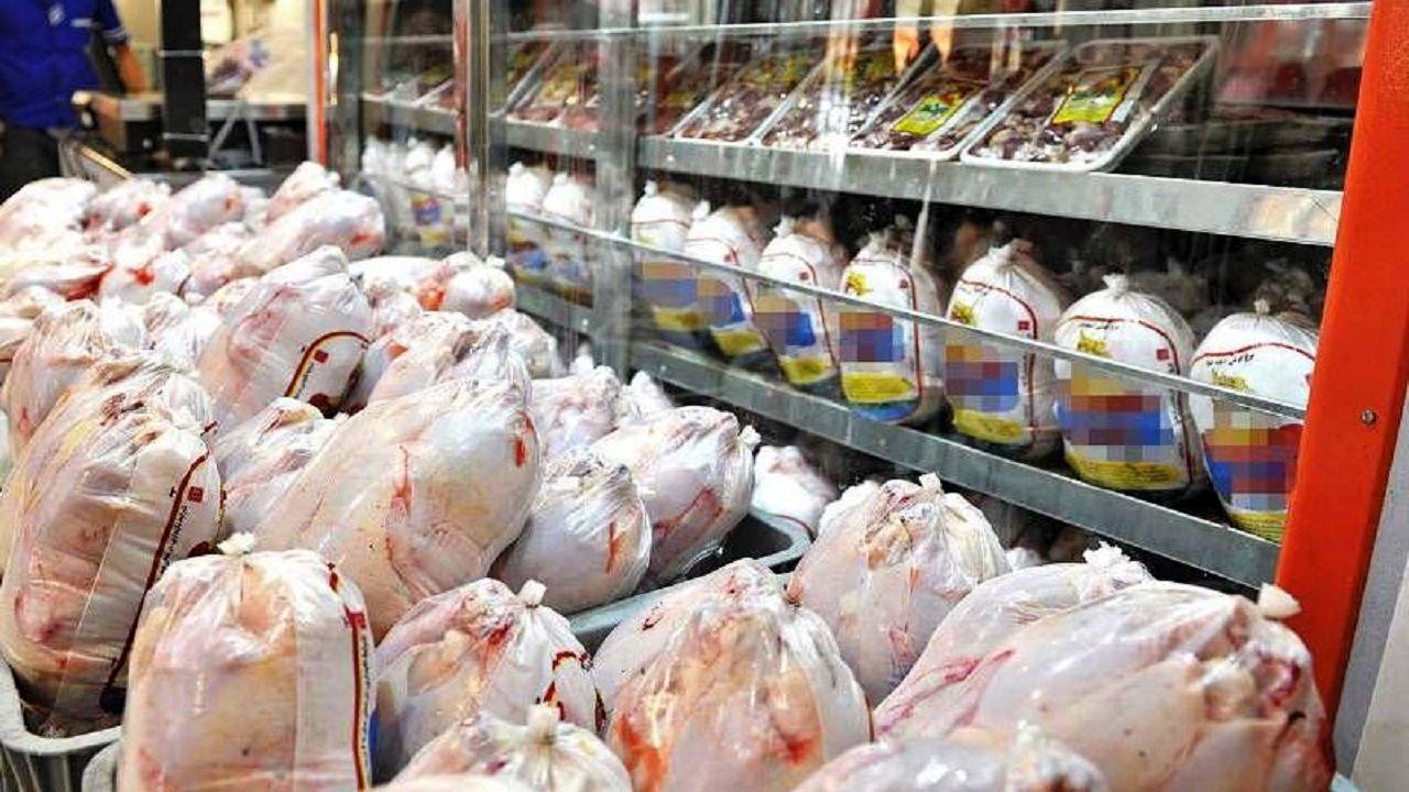 عرضه 12 هزار و 400 گوشت مرغ گرم در دو روز اخیر