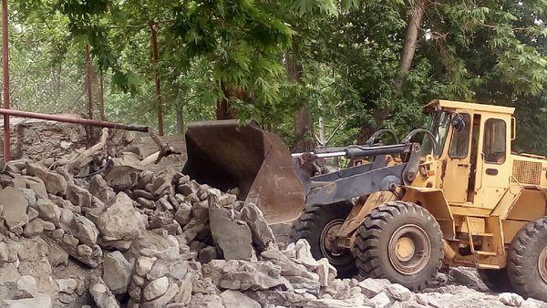 رفع تصرف ۵۰ میلیاردی از اراضی ملی در چرداول