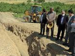 اجرای ۲۲ هکتار از پایاب سد قلعه چای شهرستان عجب شیر