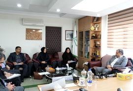دیدار استاندار قزوین با مدیر عامل صندق توسعه بخش کشاورزی کشور