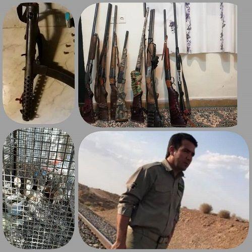 افزایش برخورد با متخلفان صید و شکار در فارس