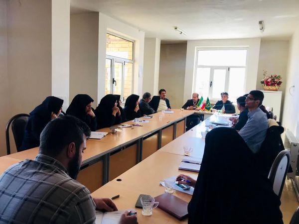 برگزاری جلسه شورای هماهنگی مدیریت جامع سامانه پهنه بندی شهرستان کیار