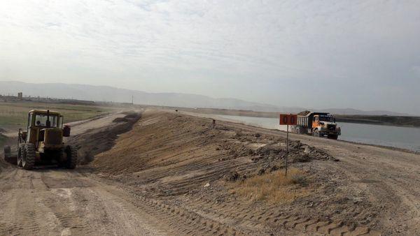 پیشرفت فیزیکی 88 درصدی پروژه سد خاکی پیله سحران