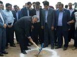 عملیات اجرایی ساخت گلخانه ۲.۴ هکتاری در شهرستان آباده