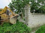 39 ساخت و ساز غیرمجاز در زمین های کشاورزی بابل قلع و قمع شد