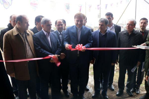 افتتاح کارخانه مونتاژ تراکتور در گیلان