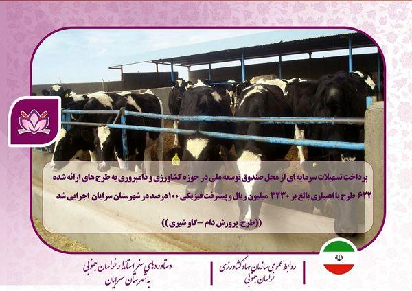 دستاورد بازدیدهای استاندار خراسان جنوبی از بخش کشاورزی شهرستان سرایان