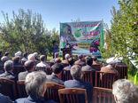 جشن برداشت محصول سیب در یکی از باغات روستای نخود آباد شهرستان هشترود برگزار شد