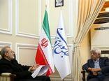 دیدار سرپرست وزارت جهاد کشاورزی  با رییس مجلس شورای اسلامی