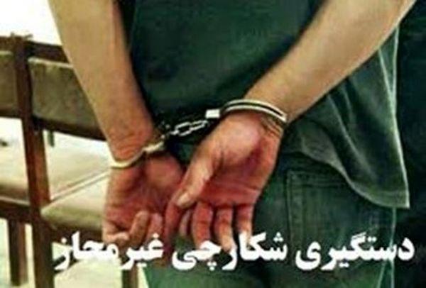دستگیری سه متخلف در ارسنجان