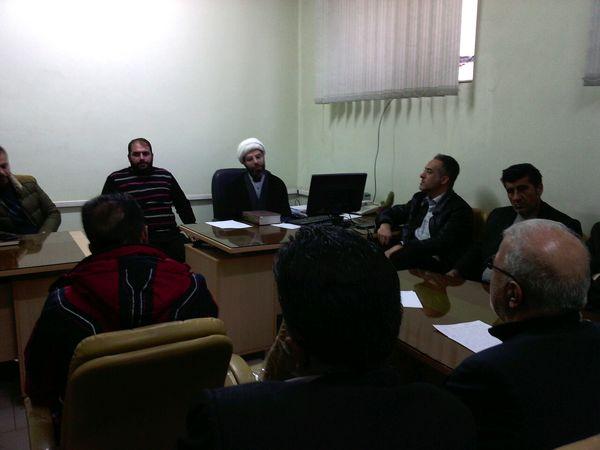 برگزاری جلسه کمیته روستایی و عشایر دهه مبارک فجر در شهرستان البرز