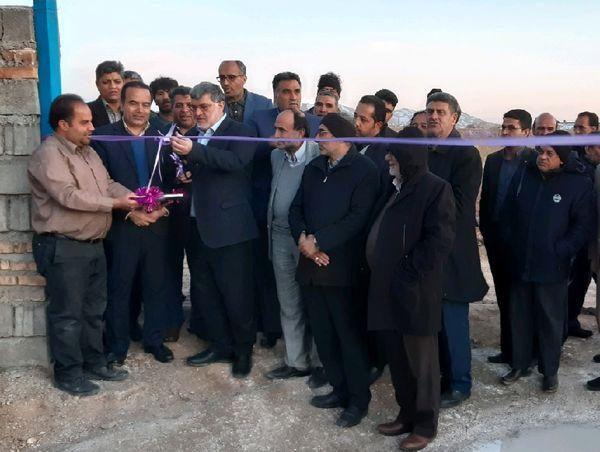 افتتاح مزرعه  پرورش بوقلمون گوشتی فردوس در ایام دهه فجر