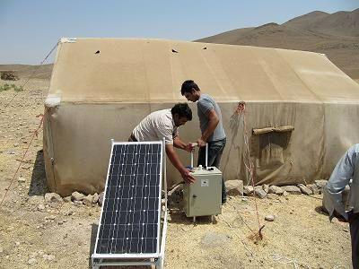 تامین ۴۰۰ پنل خورشیدی سیار برای عشایر
