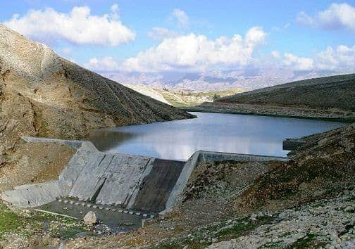 800 هزار متر مکعب بندهای خاکی جنوب دامغان آبگیری شد