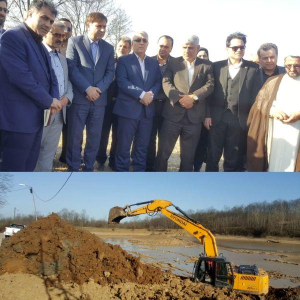 افتتاح ۴ پروژه به ارزش ۶ میلیارد و ۸۷۰ میلیون تومان در شهرستان سیاهکل