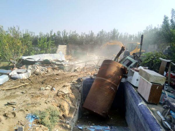 آزاد سازی 20  هزار مترمربع از اراضی کشاورزی شهرستان تهران از دست متصرفان