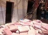 امحای بیش از ۳ تن خمیرمرغ فاسد در ورامین