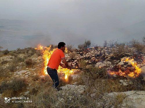 خط آتش در ارتفاعات تنگ کله قیروکارزین