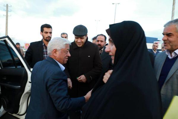سرپرست وزارت جهادکشاورزی وارد استان قزوین شد