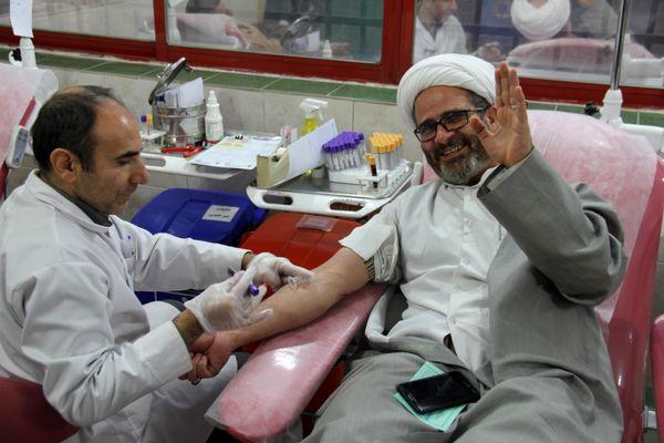 گزارش تصویری| اهدای خون کارکنان سازمان جهاد کشاورزی چهارمحال و بختیاری