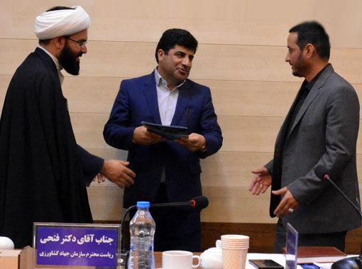 مهندس اکبر فتحی به سمت فرمانده پایگاه مقاومت 57 فجر سازمان جهادکشاورزی آذربایجان شرقی منصوب شد