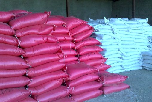 کود شیمیایی برای کشاورزی کرمانشاهی ذخیره شده است