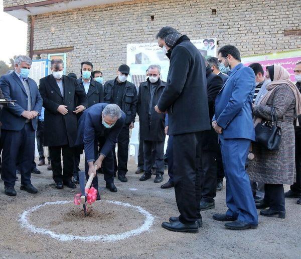 کلنگزنی سایت و ساختمان اداری سازمان جهاد کشاورزی خراسان شمالی