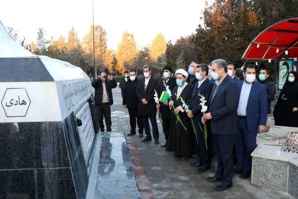 حضور در یادمان شهید باکری در آذربایجان غربی