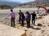 عملیات اجرایی طرح تامین آب گزستان بخش بازفت آغاز شد