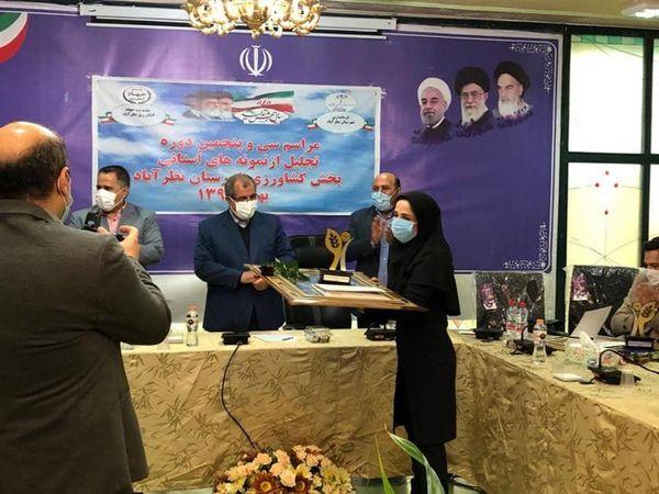 13 تولید کننده برتر استان البرز از شهرستان نظرآباد معرفی و تجلیل شدند